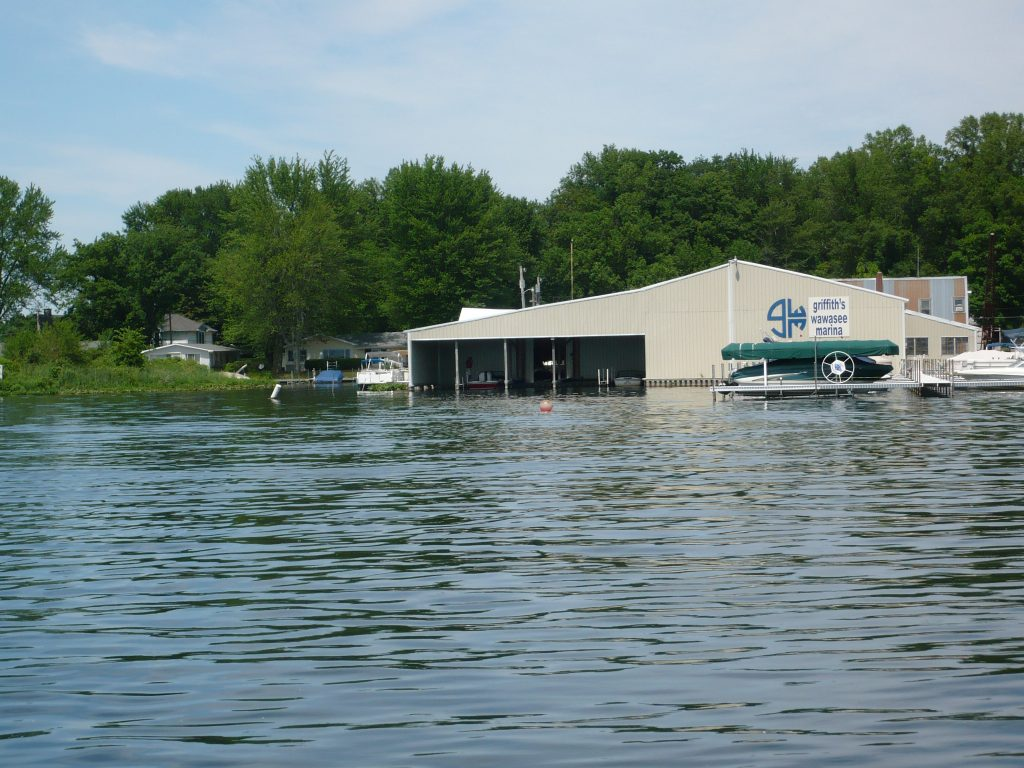 Griffith's Wawasee Marina has been serving area residents for over 20 years.